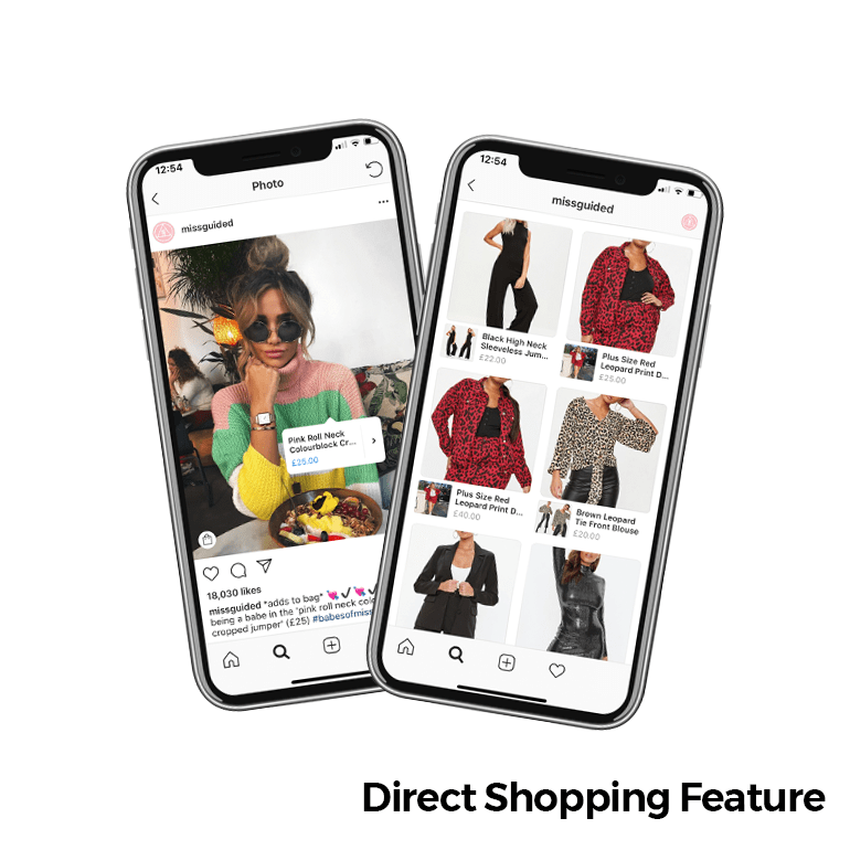Shopping Feature