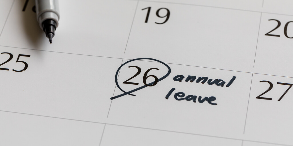 encourage employees to take annual leave
