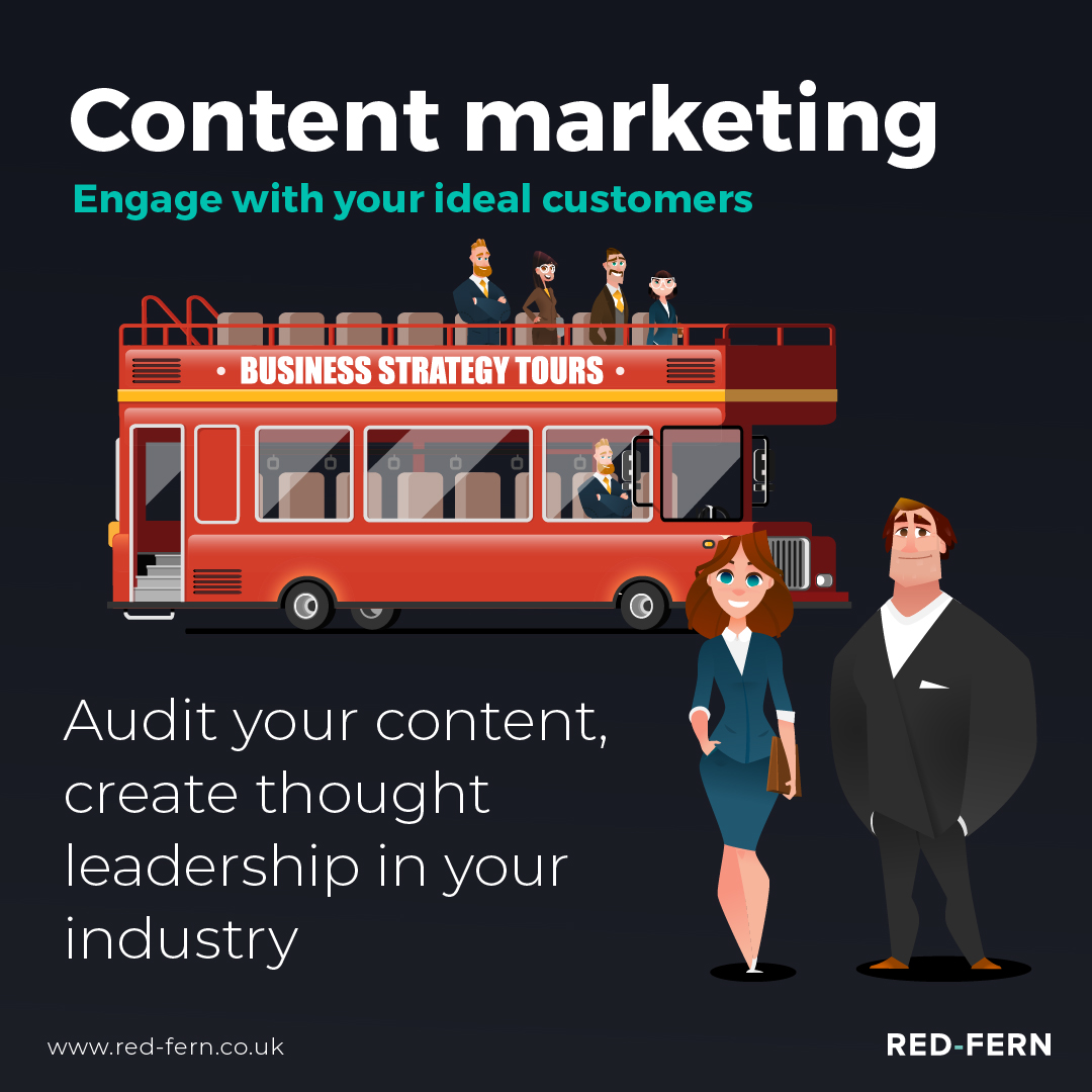 The Bus Has Stopped Content Marketing