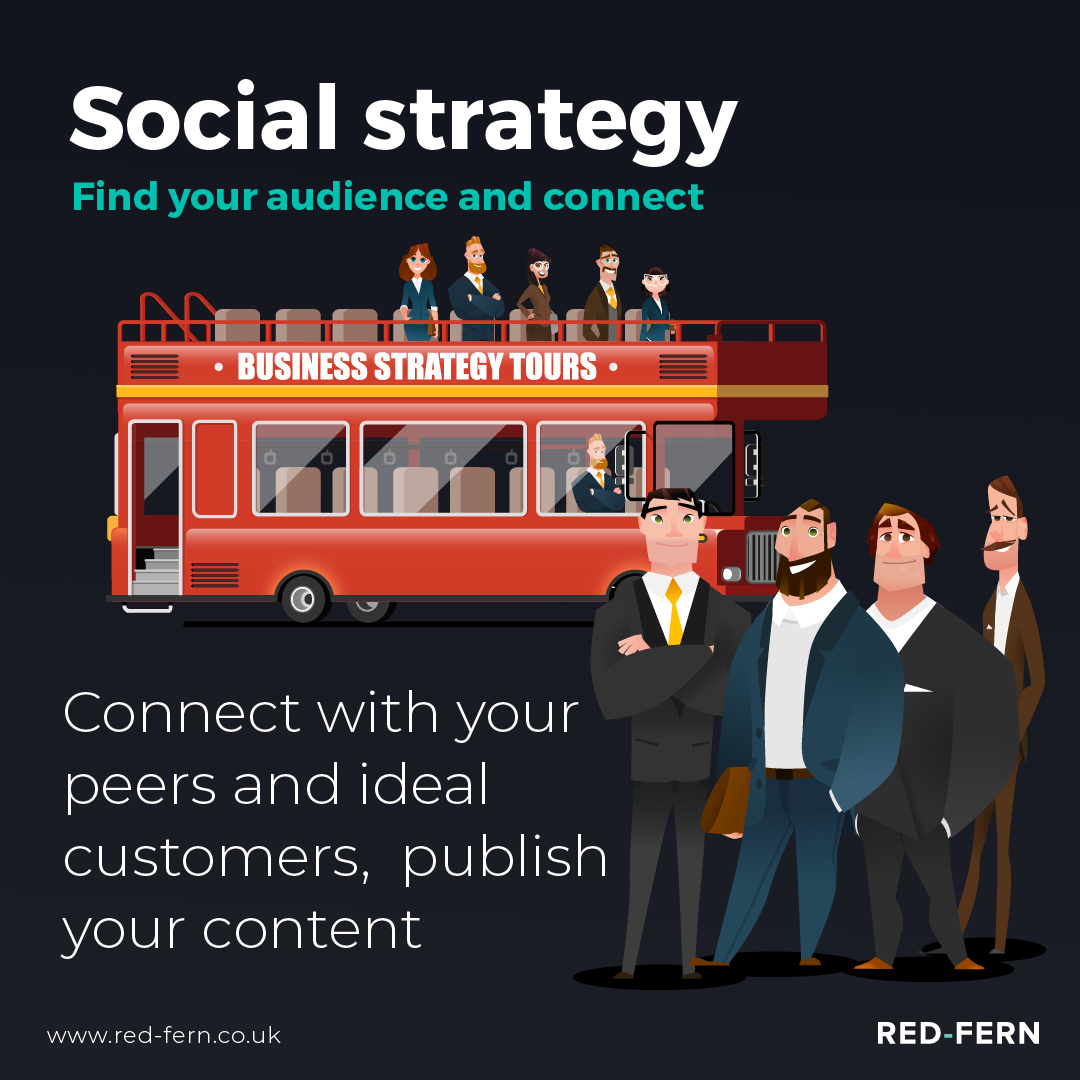 The Bus Has Stopped Social Strategy