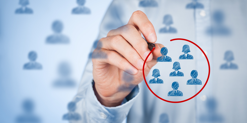 target audience b2b linked in ads marketing
