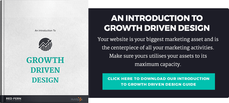 Growth Driven Design Review