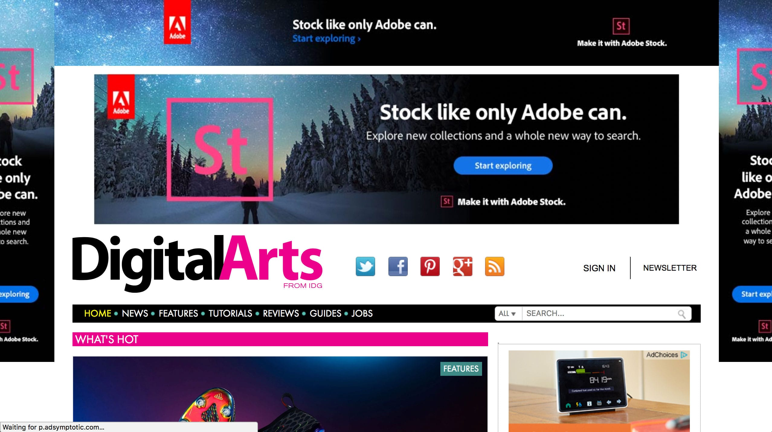 Digital Arts Website