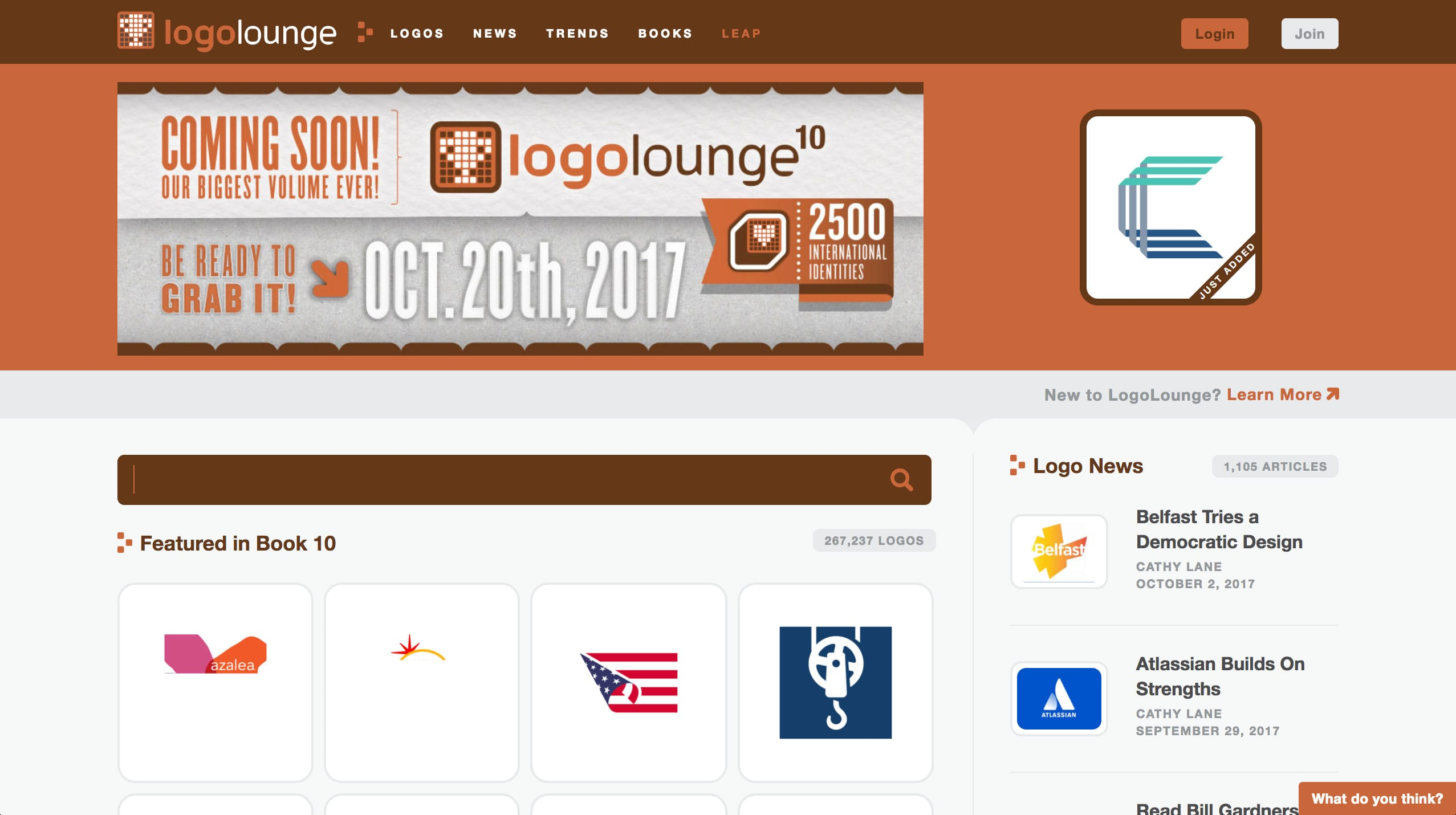 Logo Lounge Website