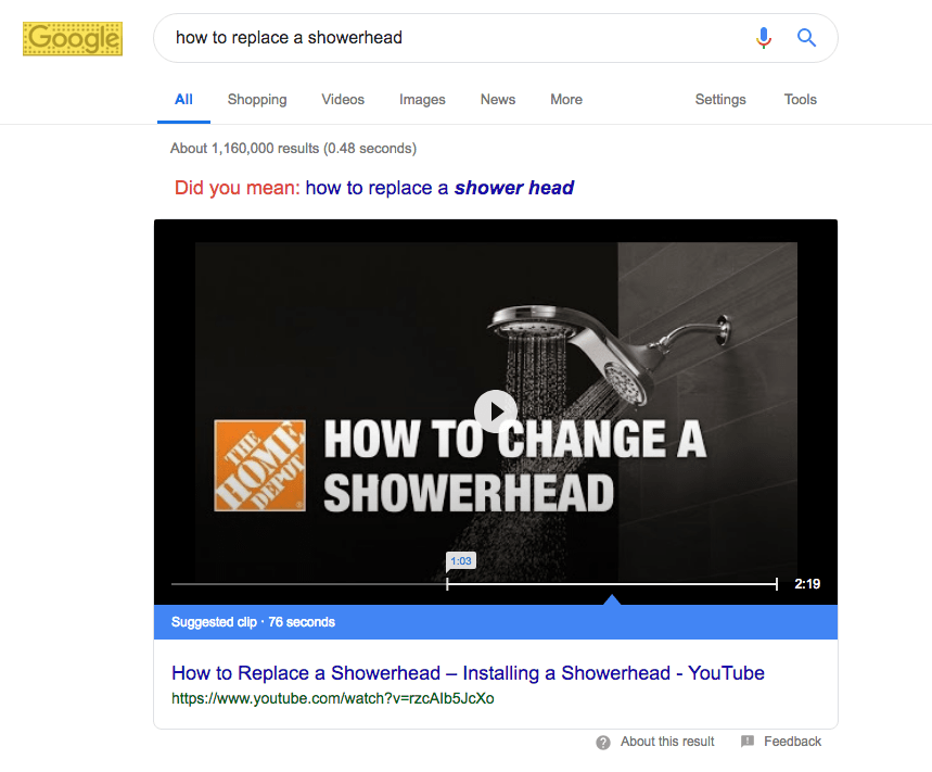home depot marketing