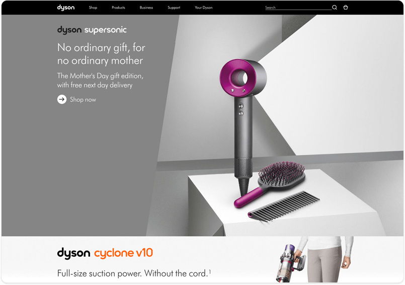 dyson homepage