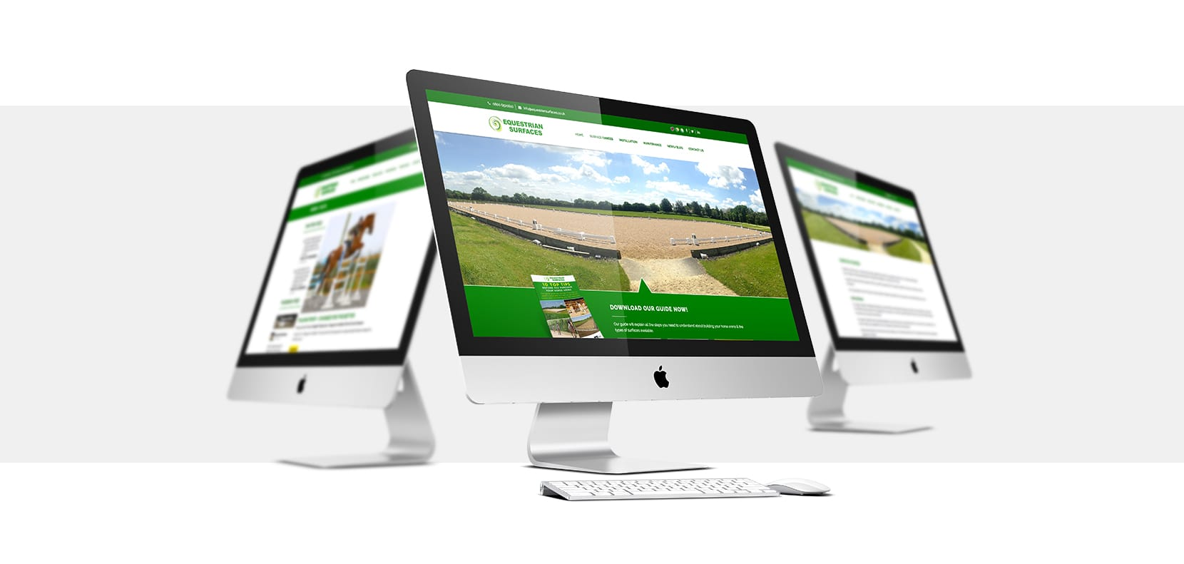 Equestrian Surfaces Website
