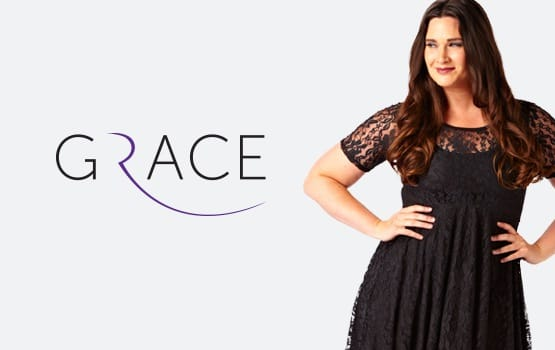 Grace fashion ecommerce website