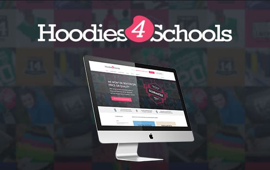 Hoodies 4 Schools Website and Management System Case Study